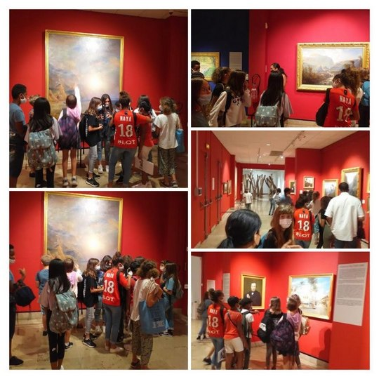 Visite Musées Artothèque et Dierx 6ème/Ulis/Segpa le 17 Décembre 2020